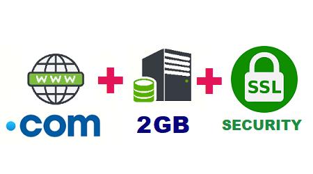 Com offer with shared hosting